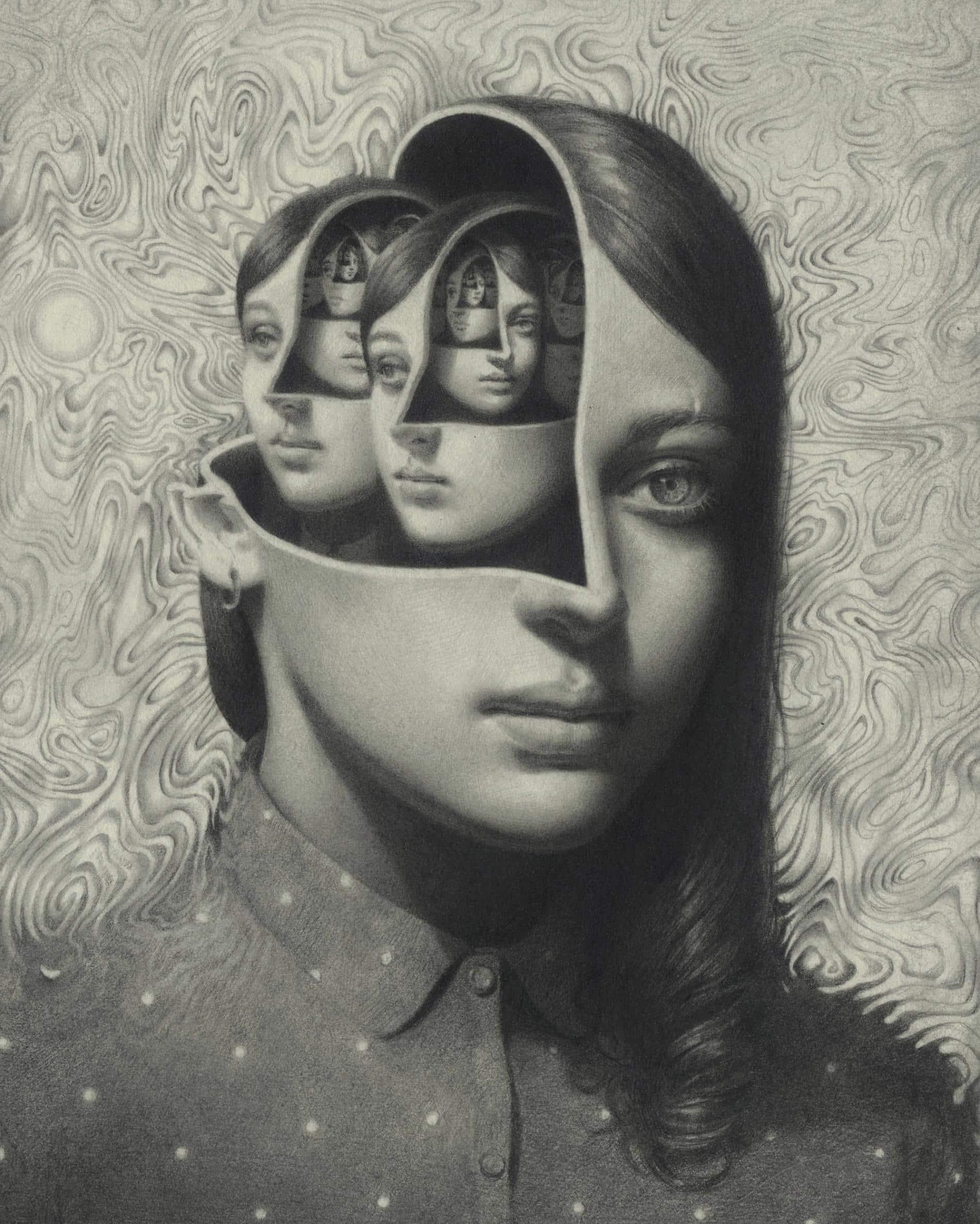 johnston retratos grafito metamorfosis