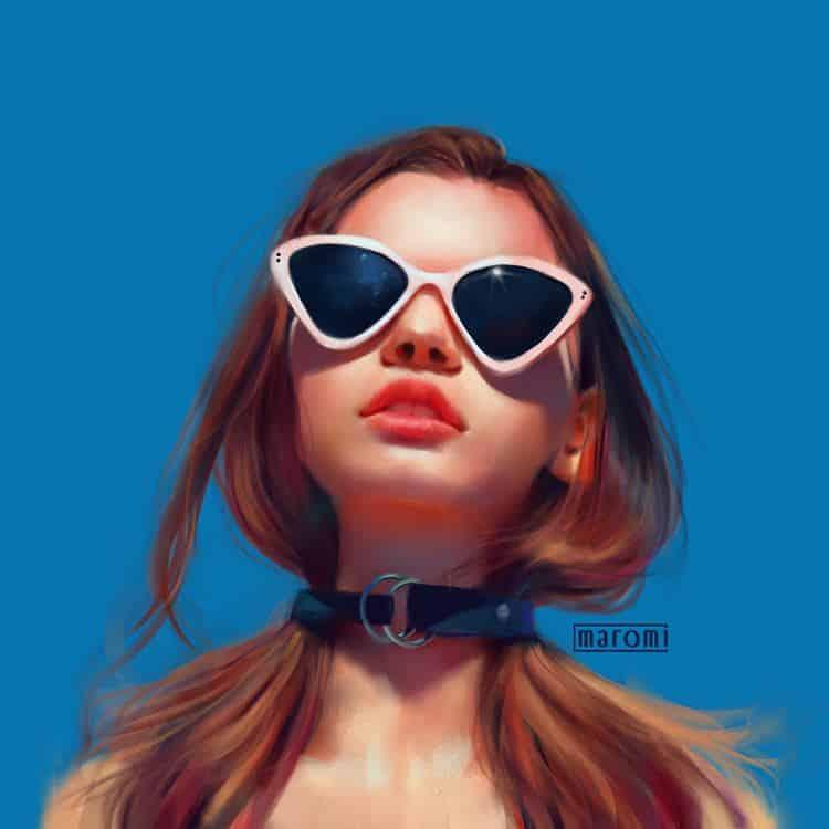 maromi saga ilustracion digital grl
