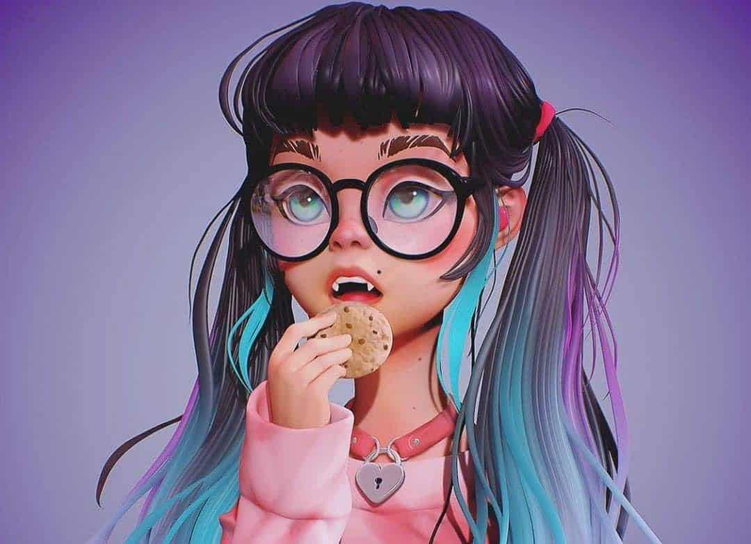 maromi saga ilustracion digital