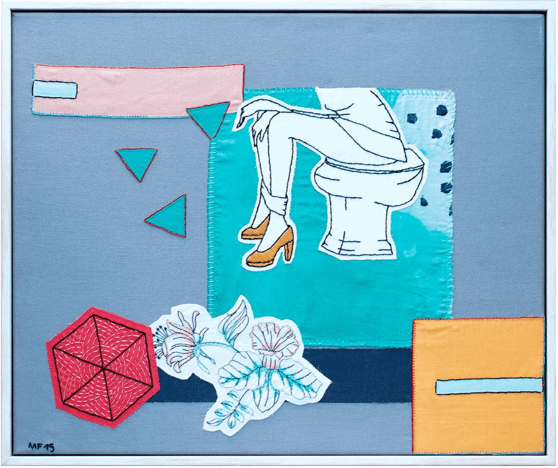 marta fofi baño tela