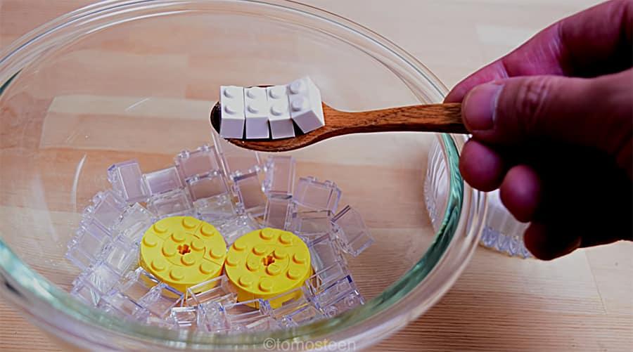 preparacion tartade chocolate tomosteen stopmotion huevos