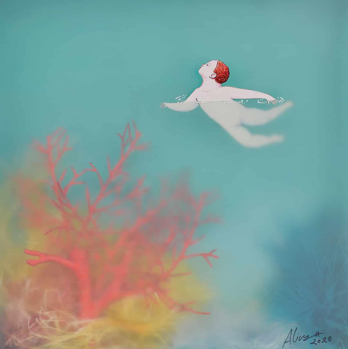 sonia alins mar en calma obra mujeres en little
