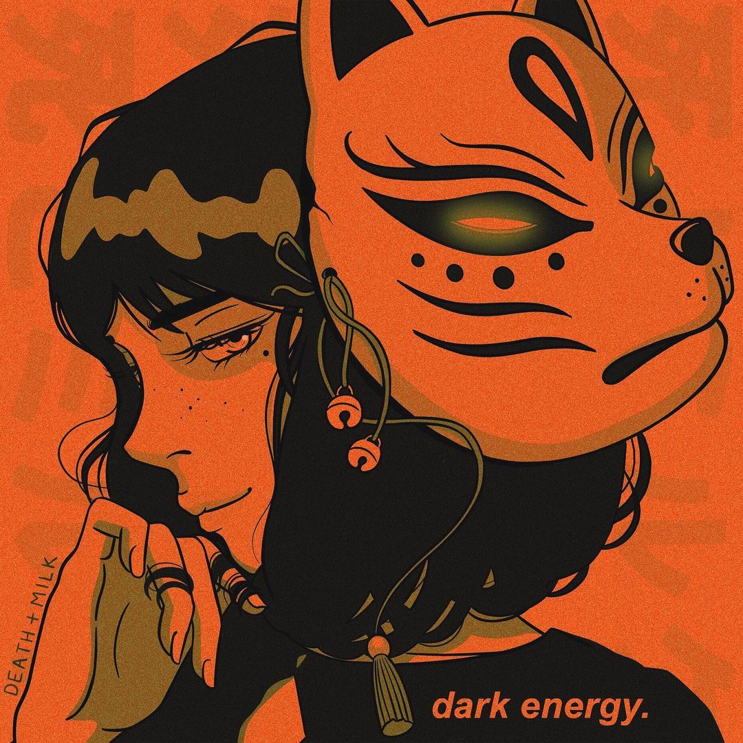 DEATH N MILK CHICA CYBER PUNK DARK ENERGY