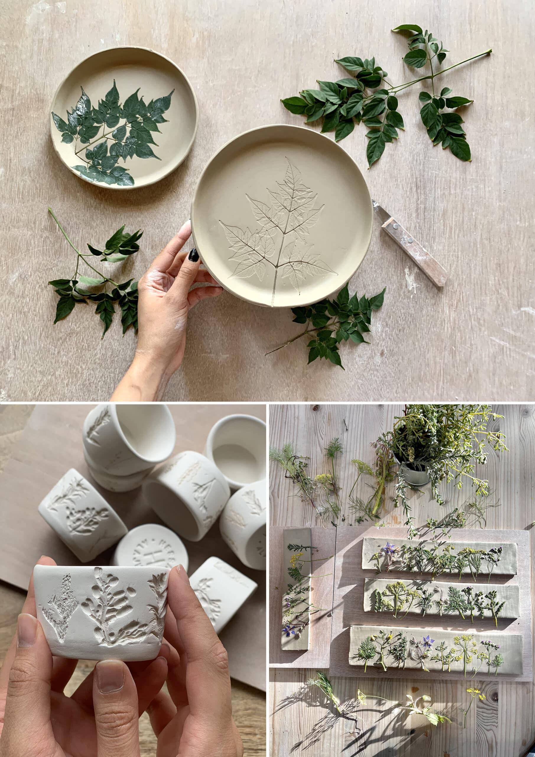 Hessa Al Ajmani taza ceramica proceso