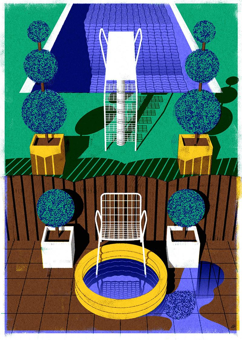 Leonie Bos espacios arquitectonicos pool