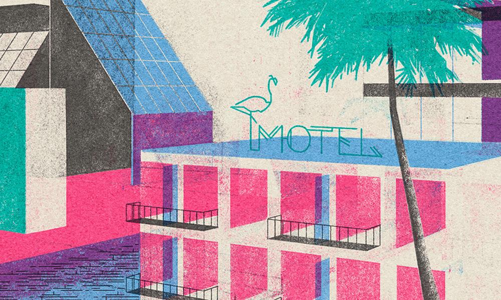 Leonie Bos ilustracion de esapcios arquitectonicos