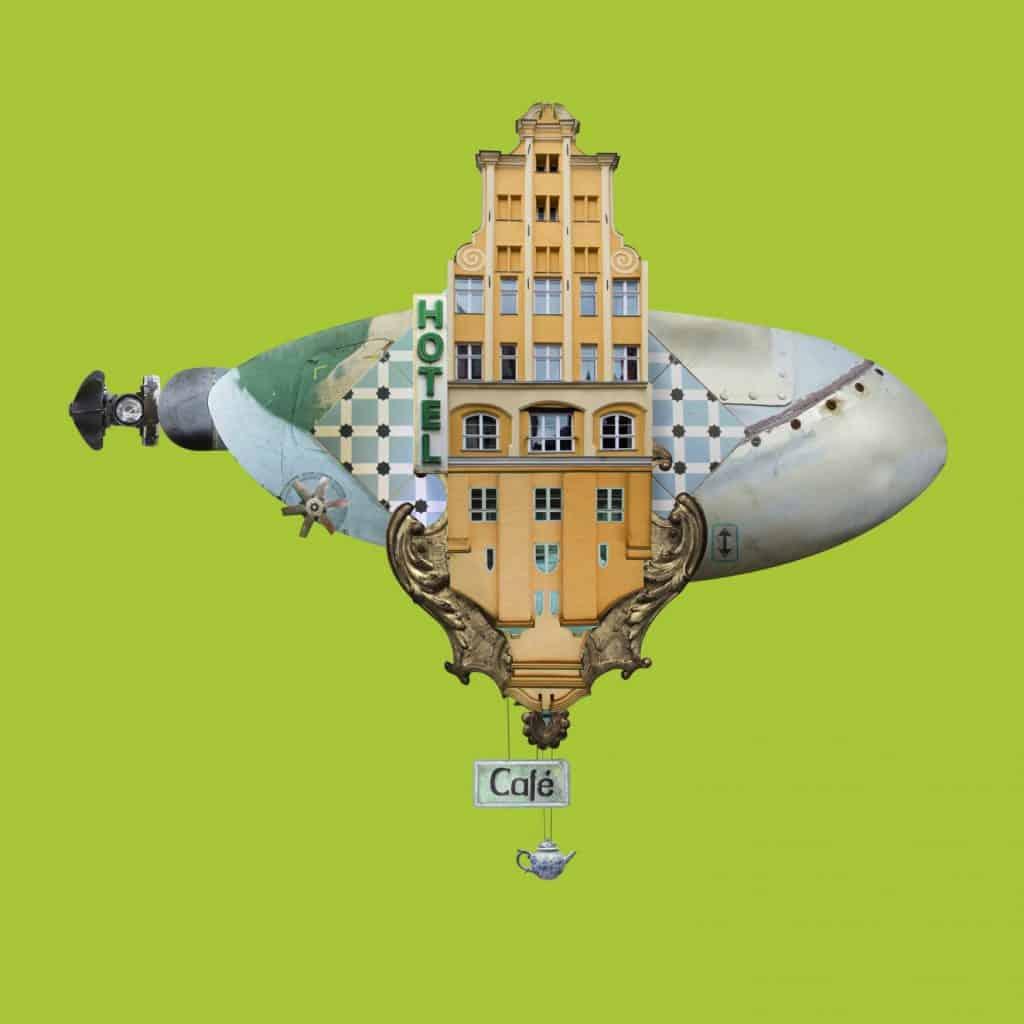 Matthias Jung hoteles voladores cafe