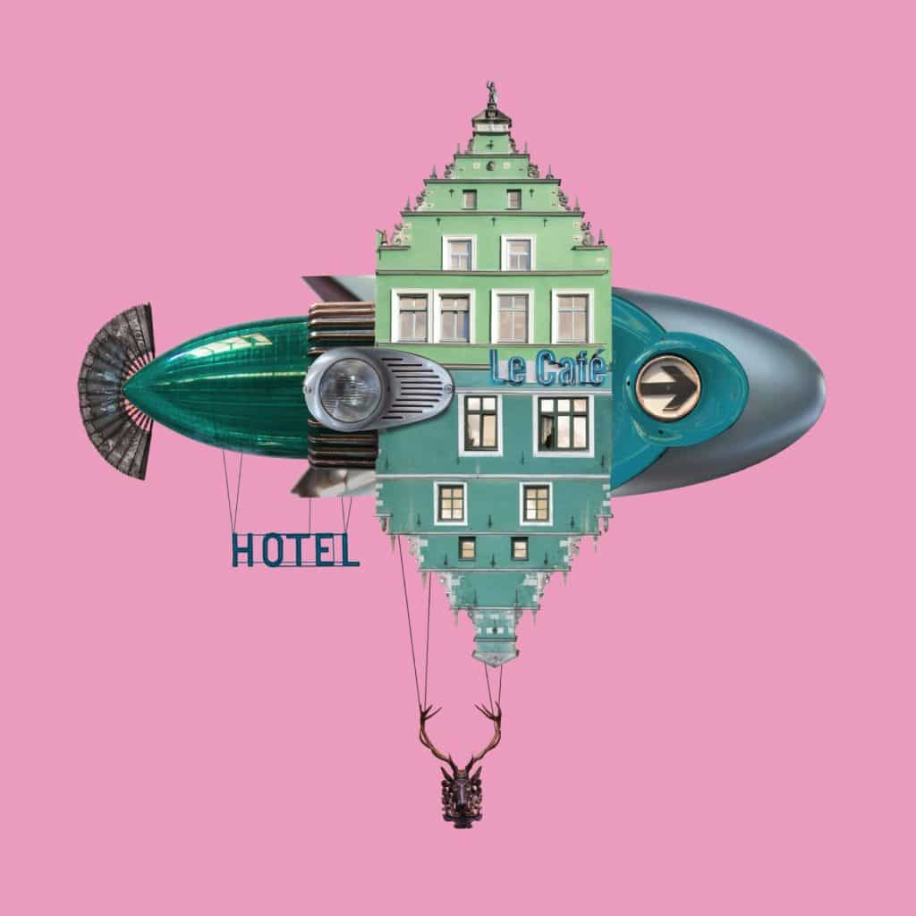 Matthias Jung hoteles voladores pez