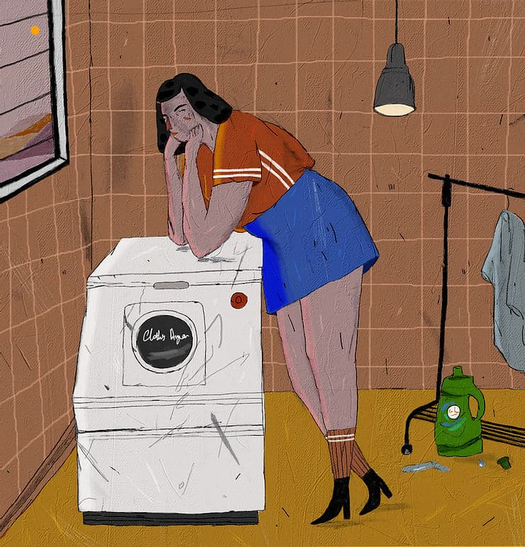 NADIA ILUSTRACIONES lavadora