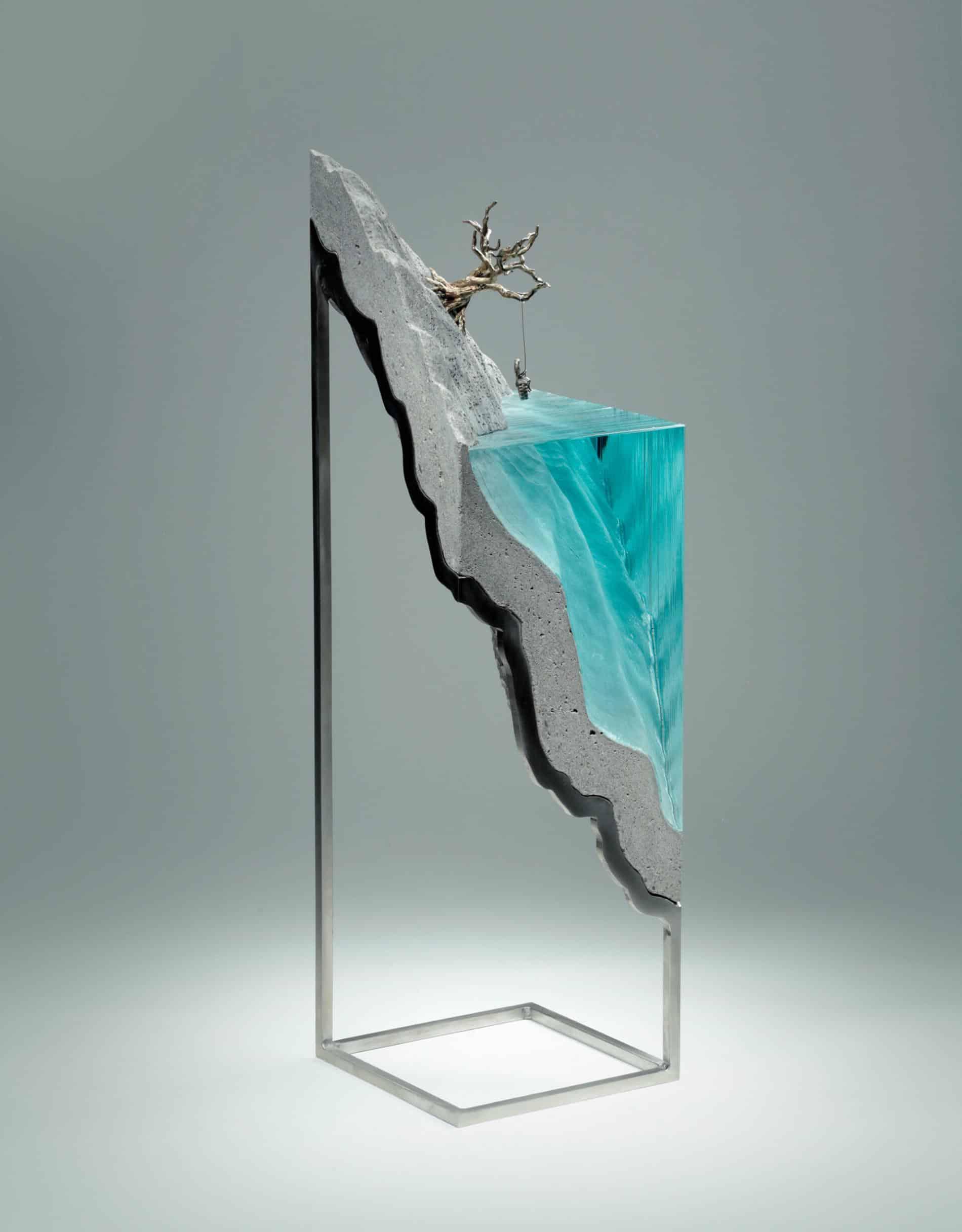 ben youn escultura vidrio arbol