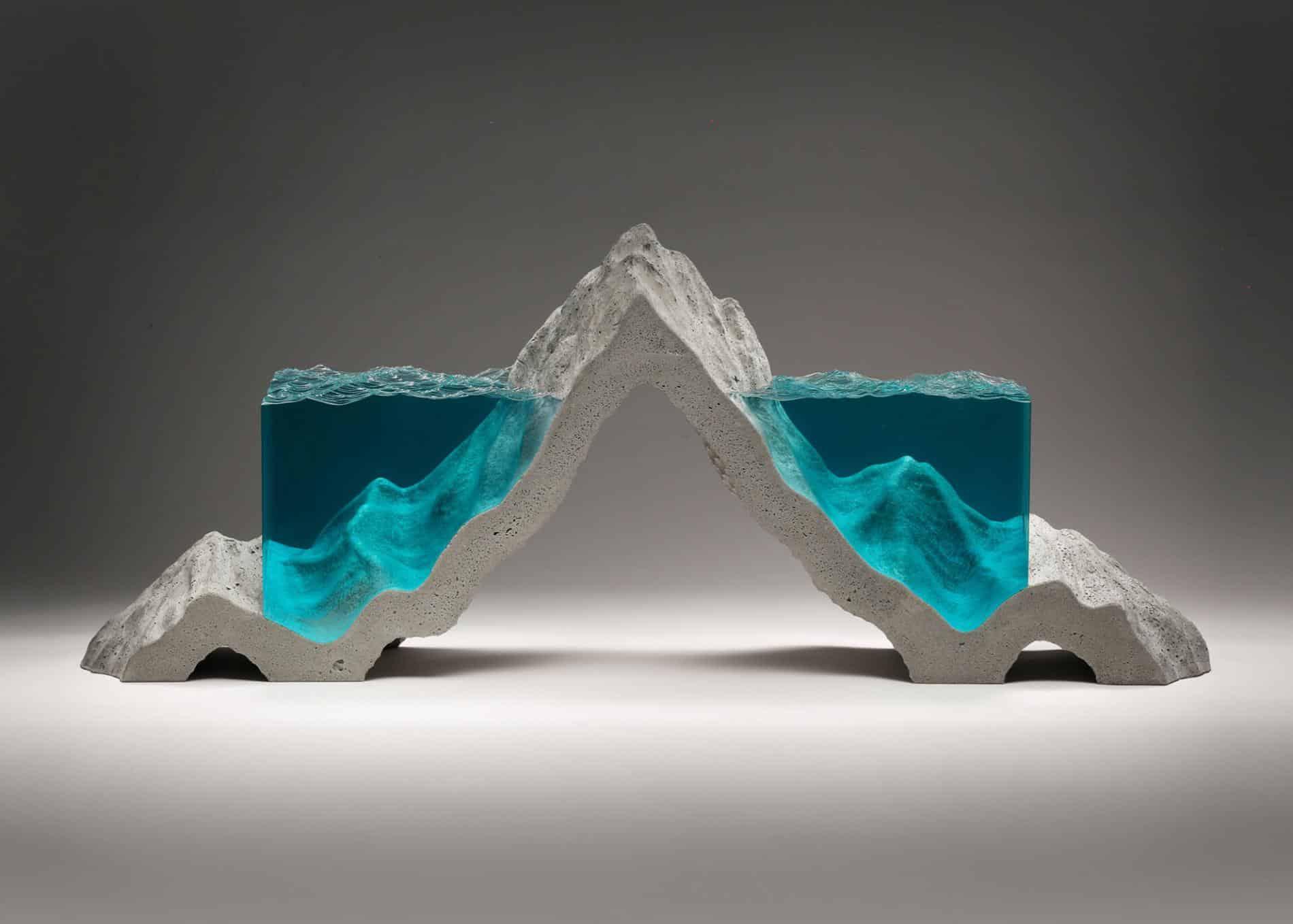 ben youn escultura vidrio pico