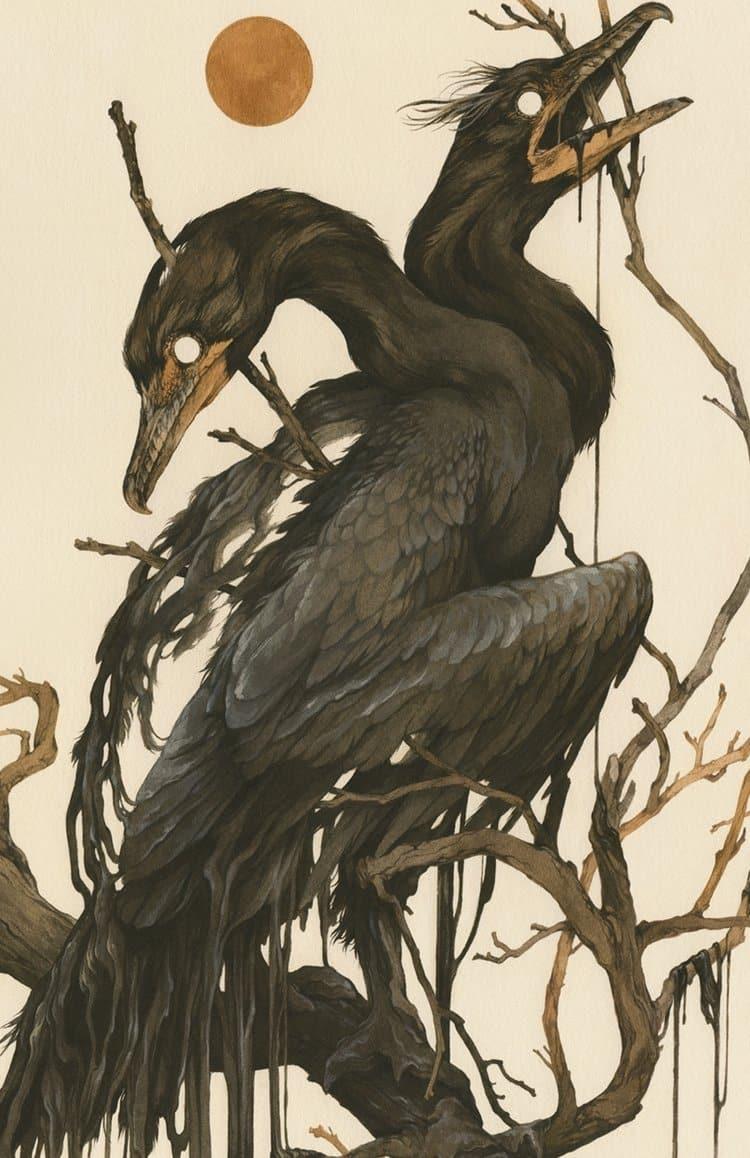 cuervos sin ojos teagan white