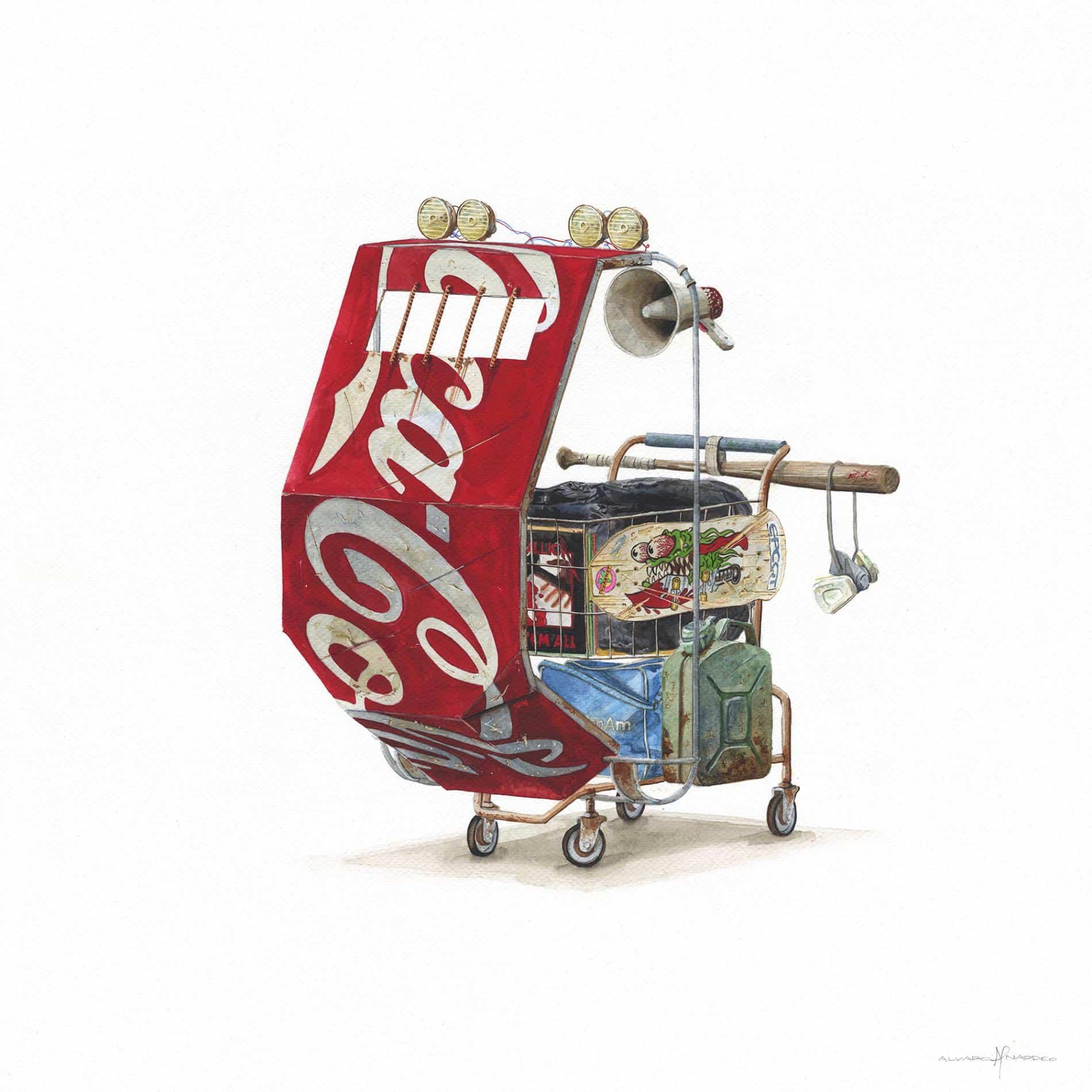 naddeo desechos coca cola