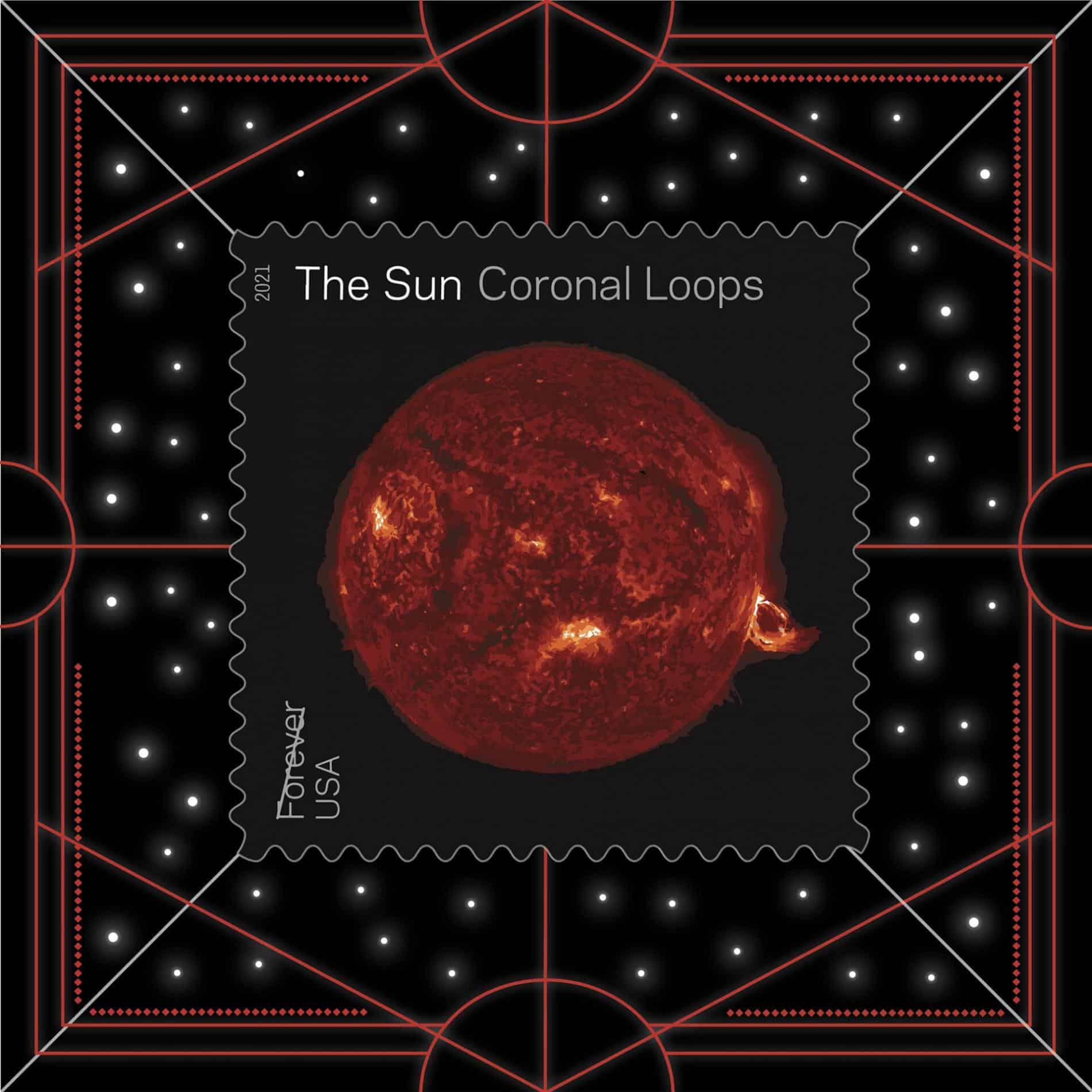ESTAMPILLA SOLAR NASA UPSP CORONAL