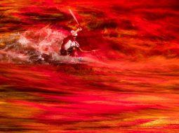 Kayaking on lava (2020) Leonid Zhukov