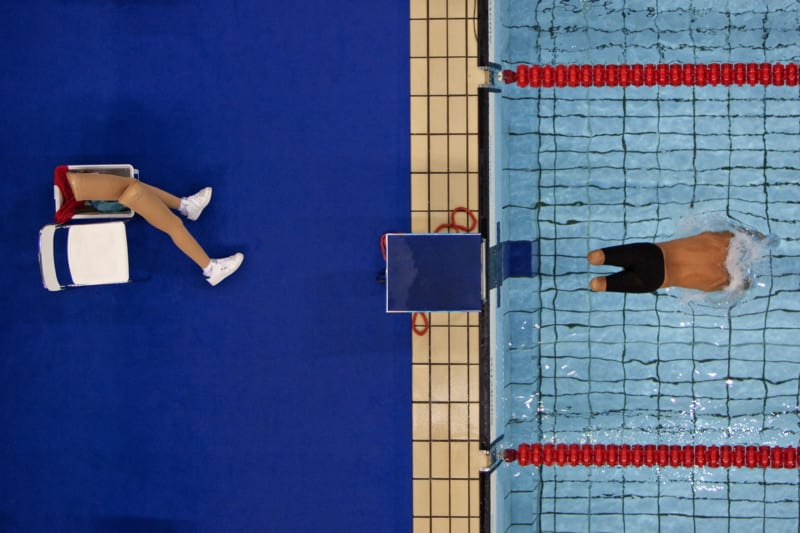 Paralympic Swimmer (2004) Bob Martin