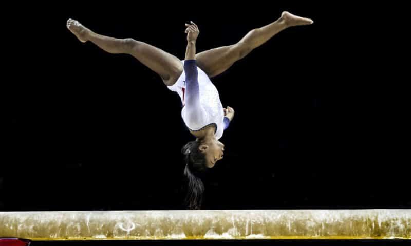 Simone Biles at The Superstars of Gymnastics (2019) Marc Aspland