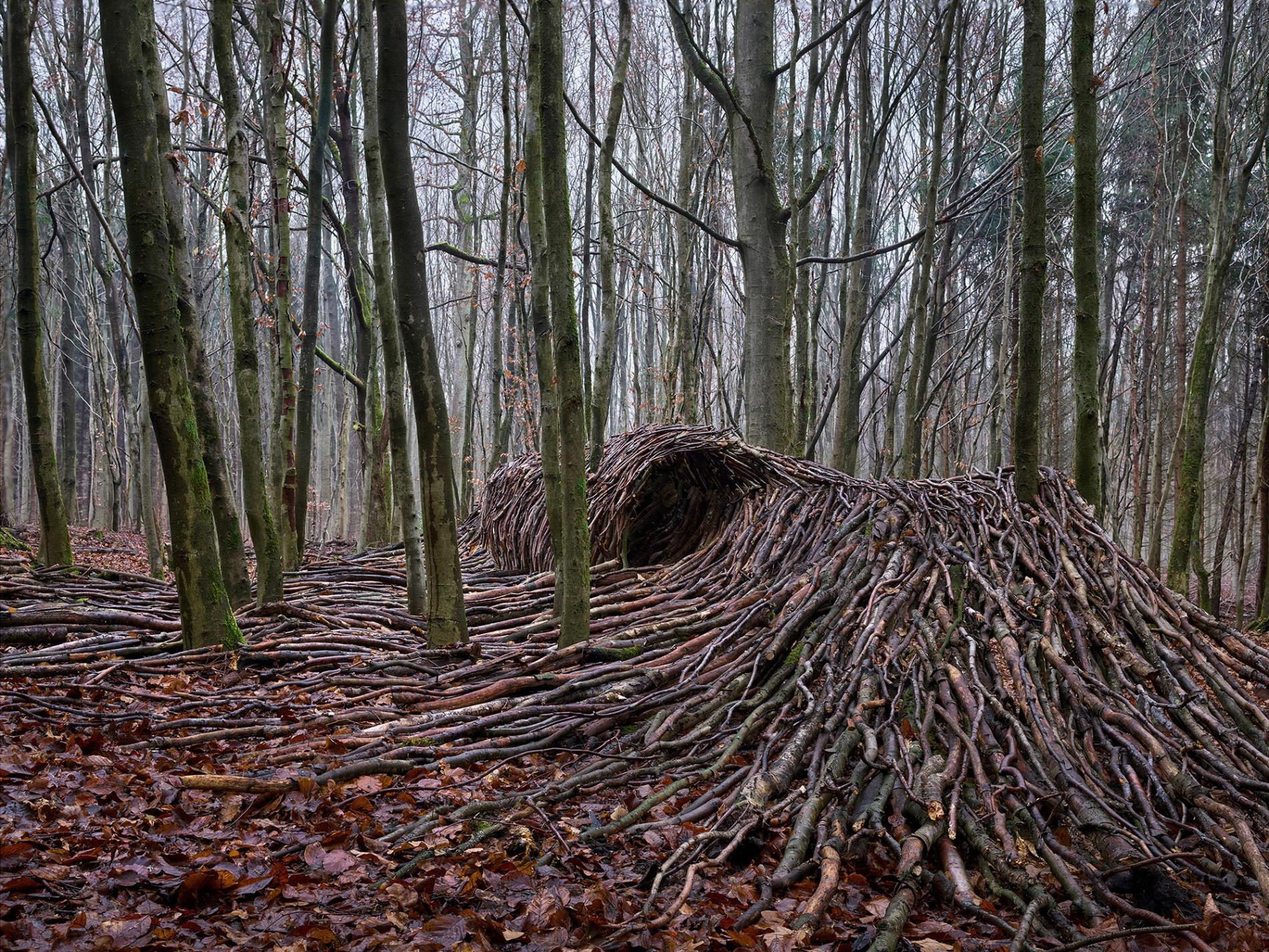 olas de madera fotografia Jörg Gläscher tubo