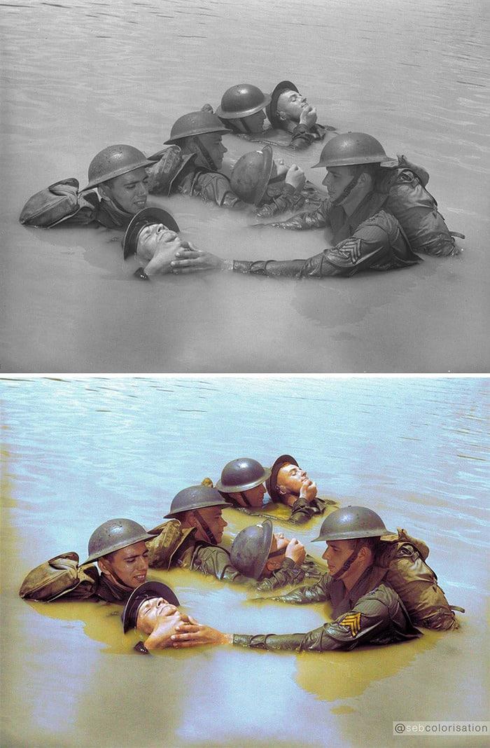 Sebastien-de-Oliveira colorized photo 1 war