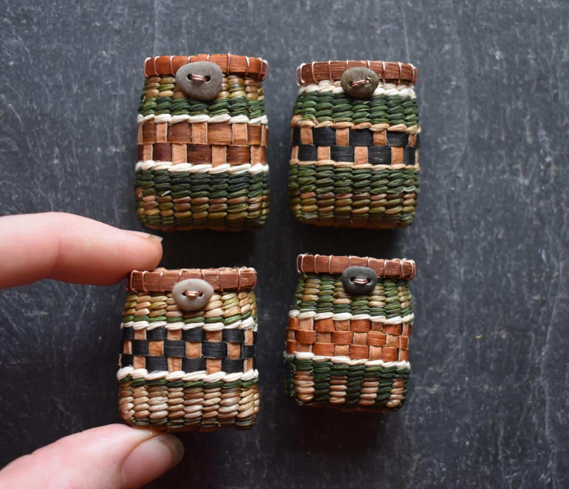 Suzie Grieve cestos miniatura 3