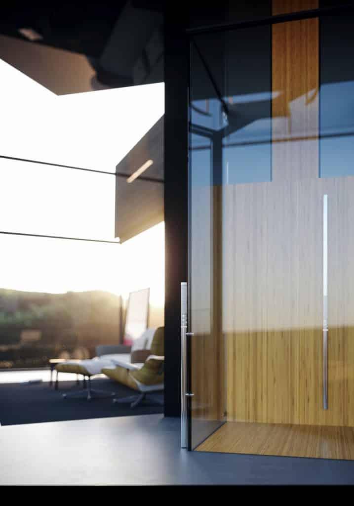 adriano design casa de cristal arrozal asensor