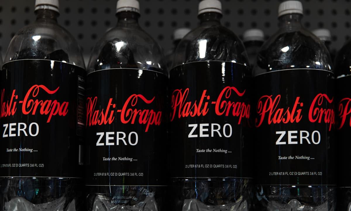 frohardt the plastic bag shop coke zero