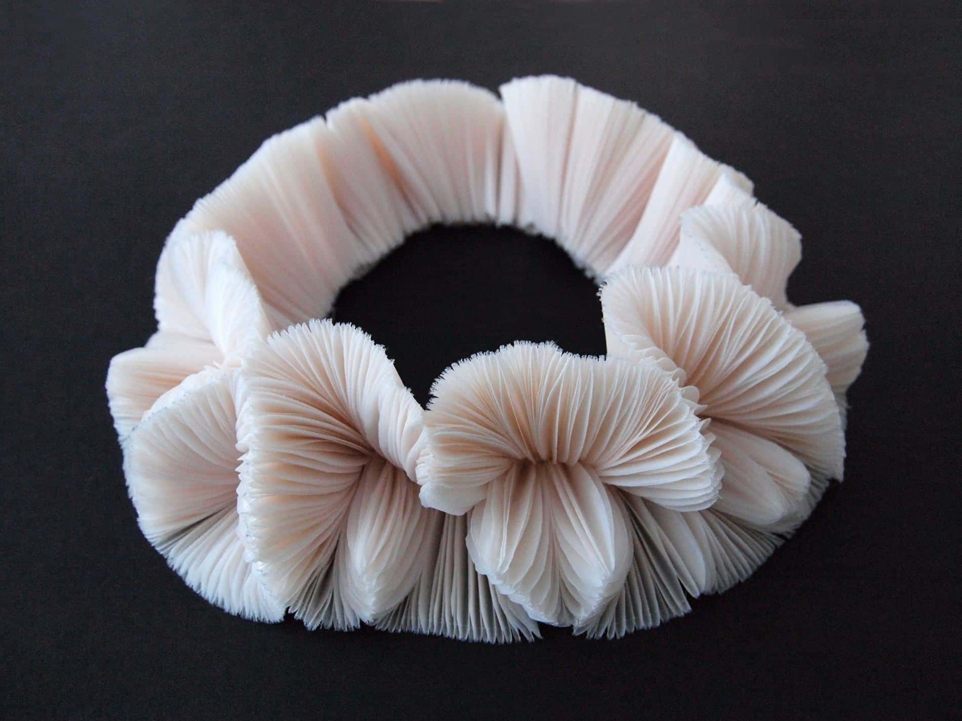 kusumoto textiles traslucidos accesorios moda