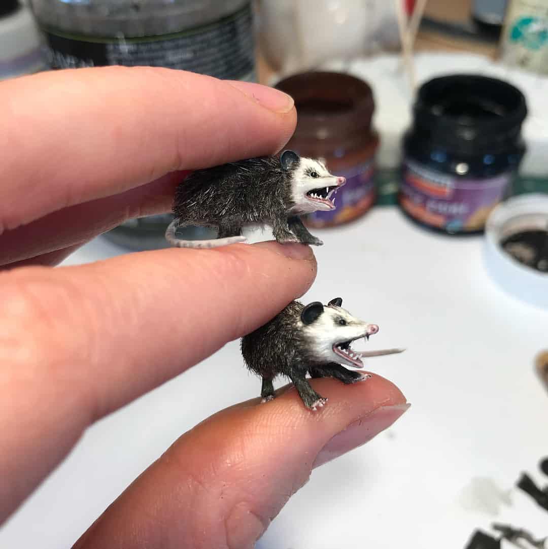 miniaturas fanni sandor proceso
