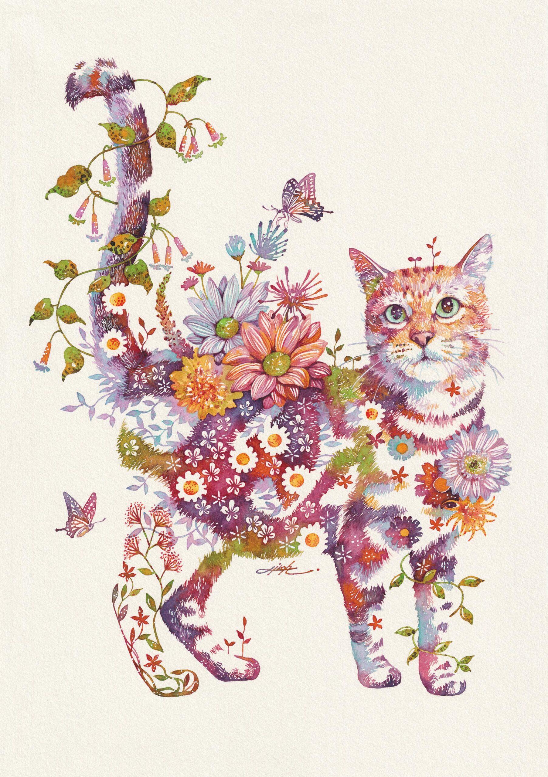 takeda gato floral