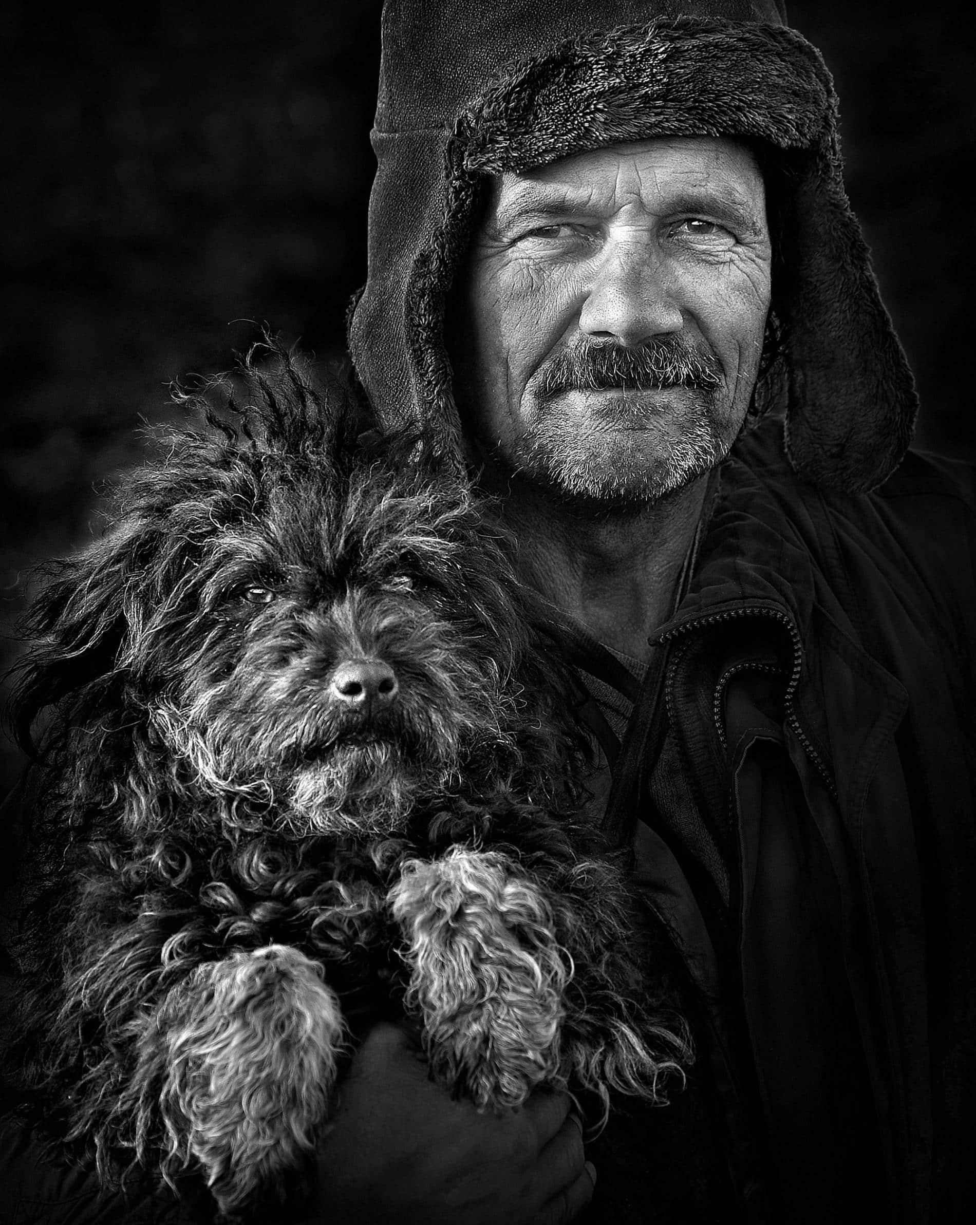 transylvania retratos istvan kerekes doggie
