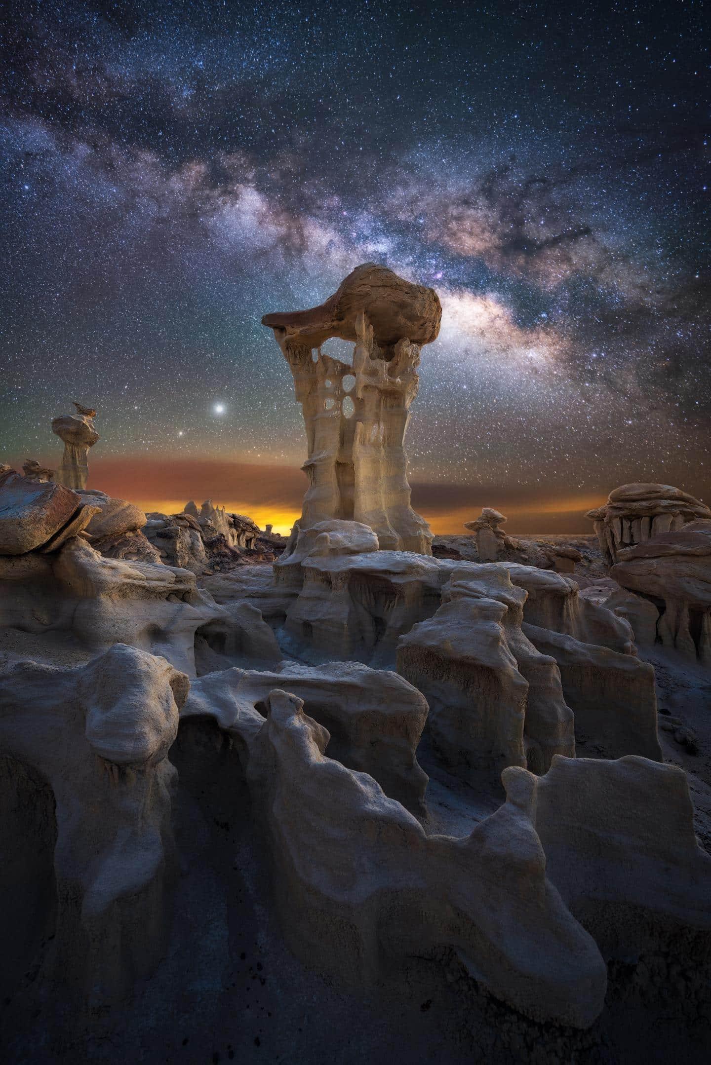 Alien Throne by Marcin Zajac