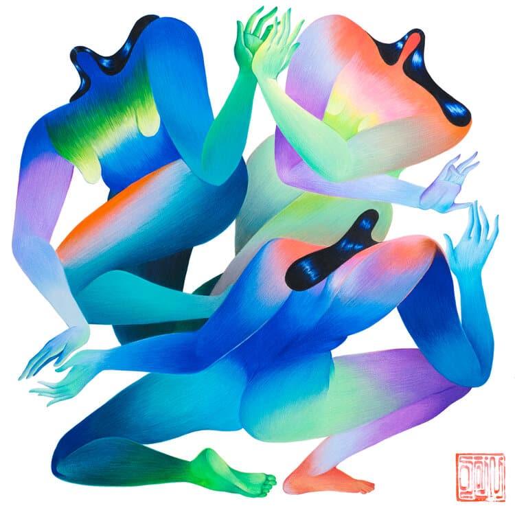 joshi mujeres yogui dance