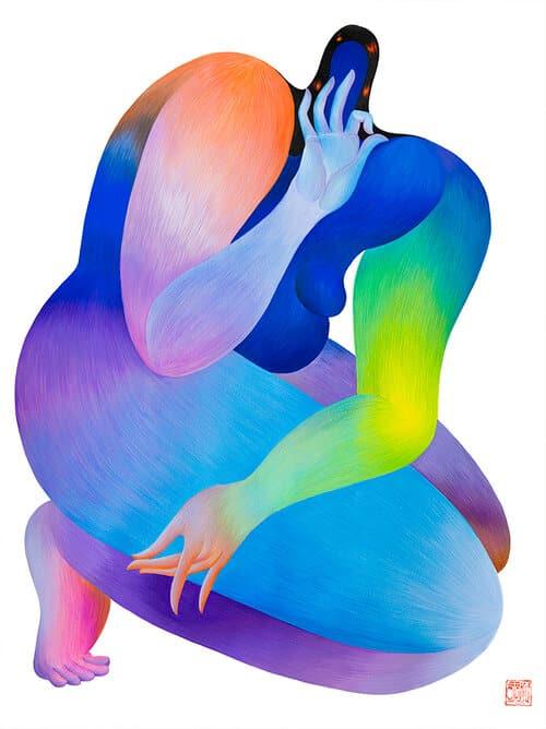 joshi mujeres yogui holding