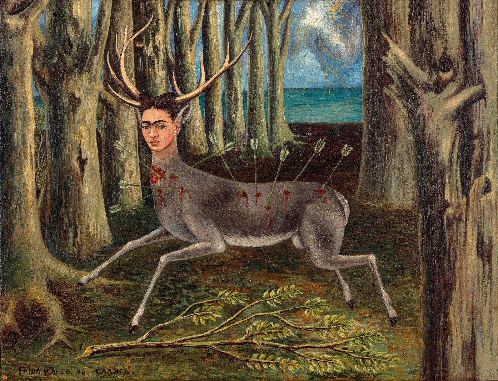 kahlo autoretrato The Little Dee