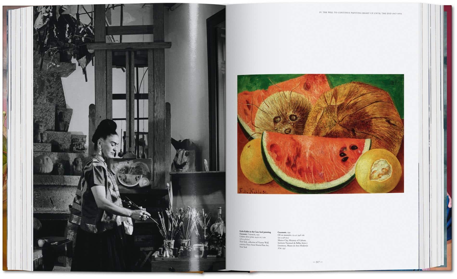 kahlo autoretrato libro paginas 2