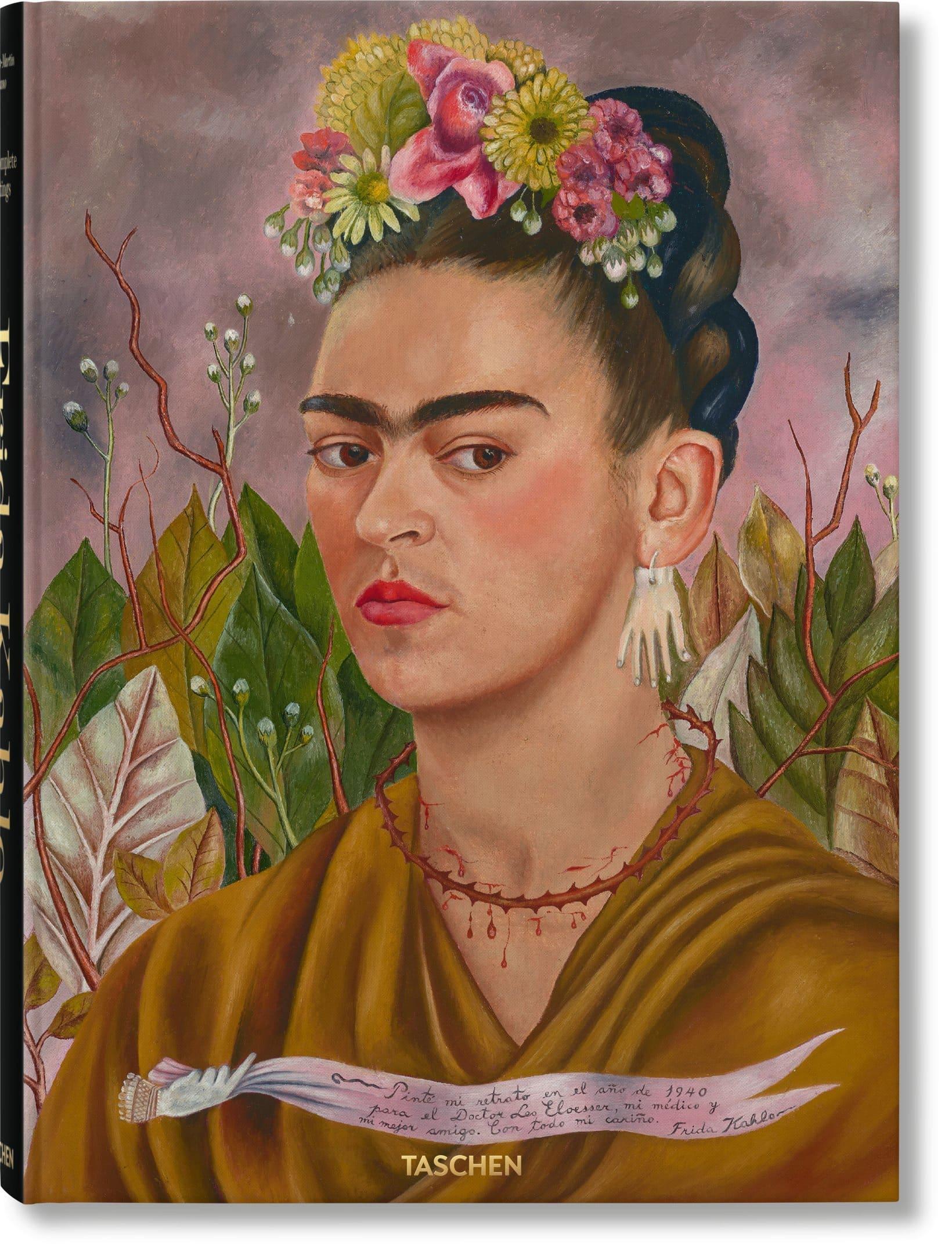kahlo autoretrato libro portada