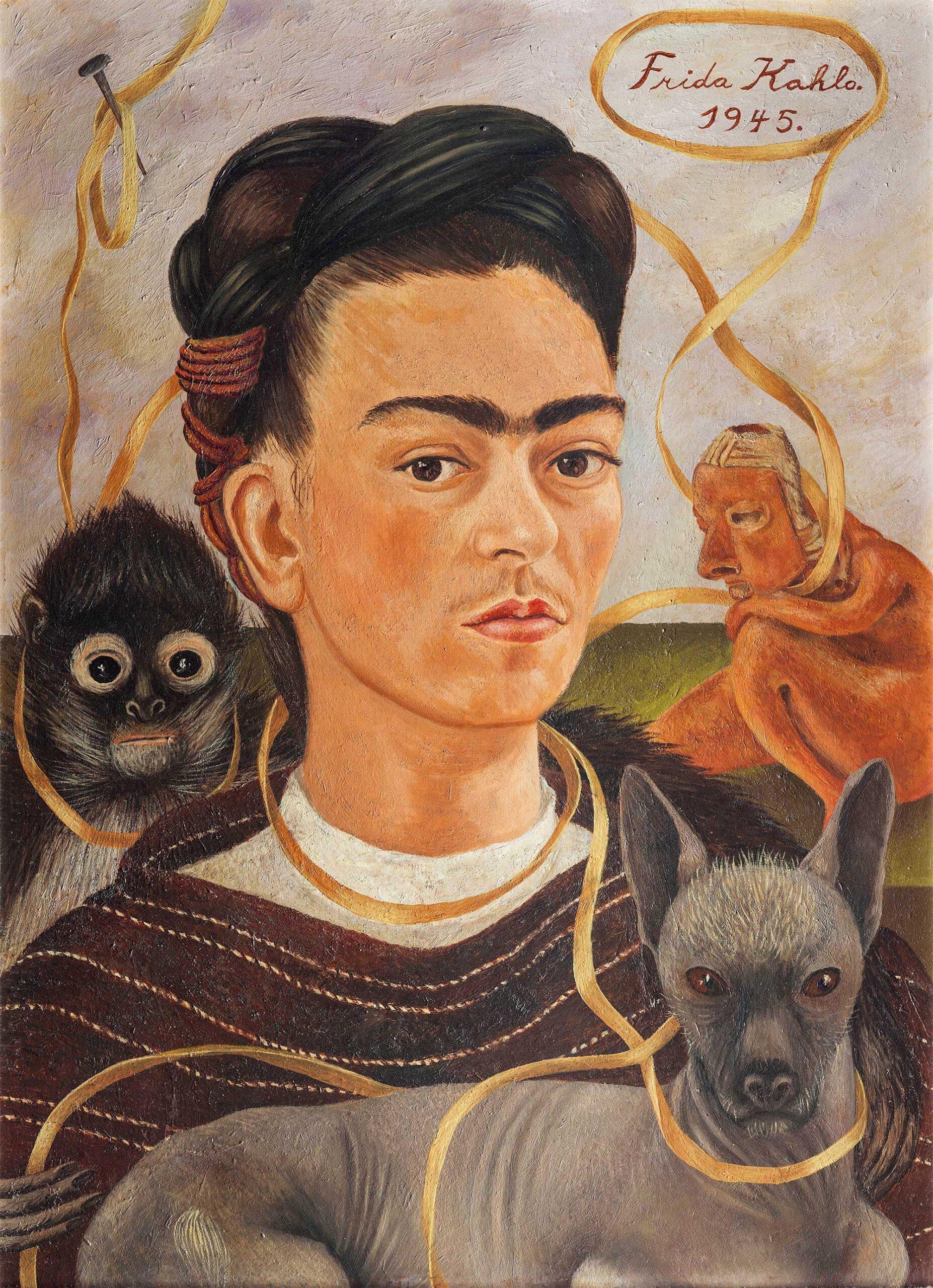 kahlo autoretrato libro