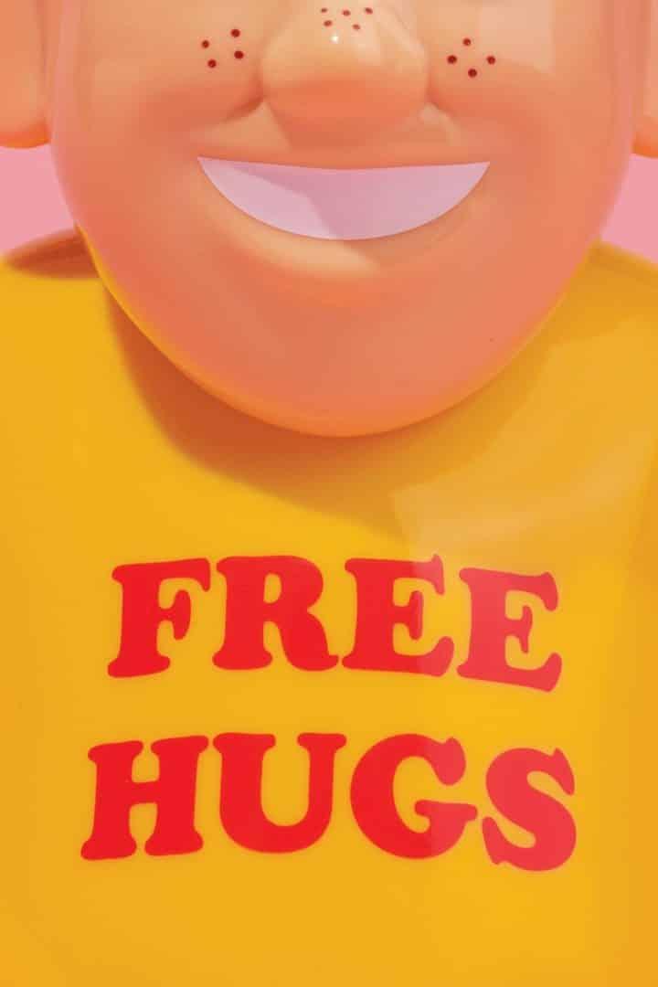JON CORNELLA FREE HUGS TSHIRT