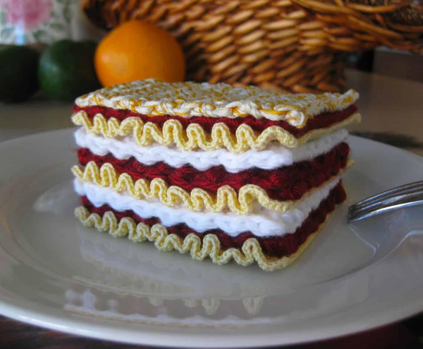 Normalynn Ablao pasta crochet lasagna
