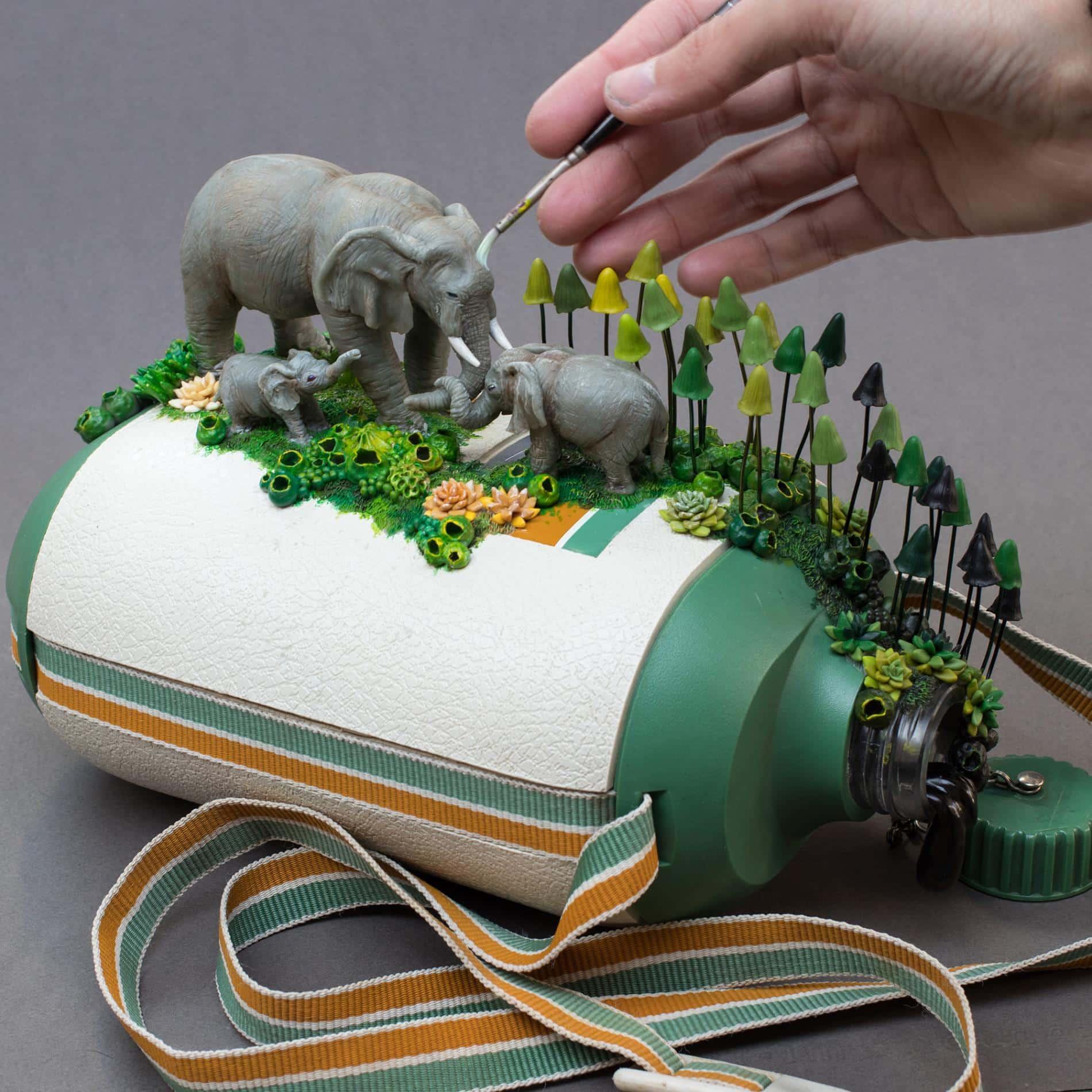 elefantes Stéphanie Kilgast