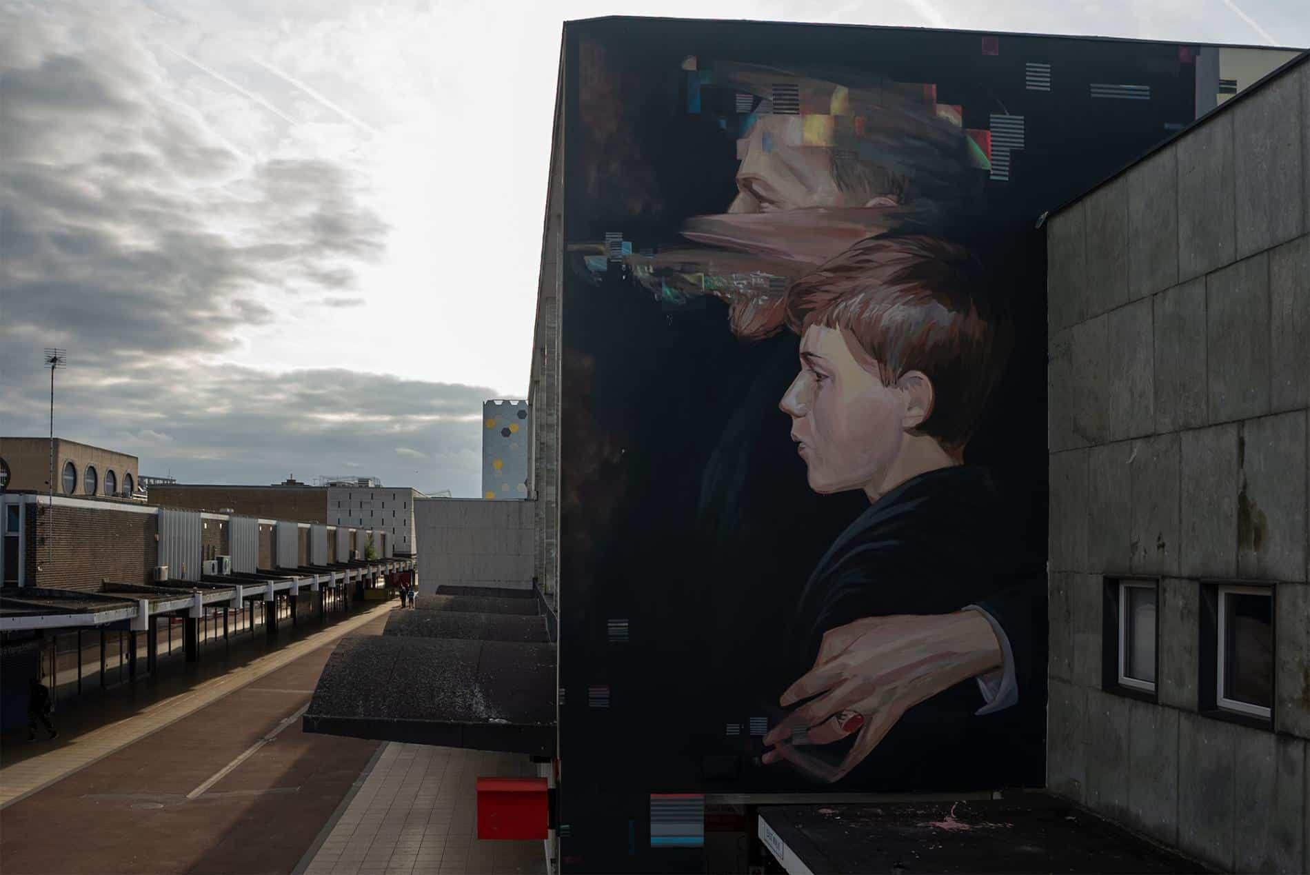 essex murales Gabriel Pitcher