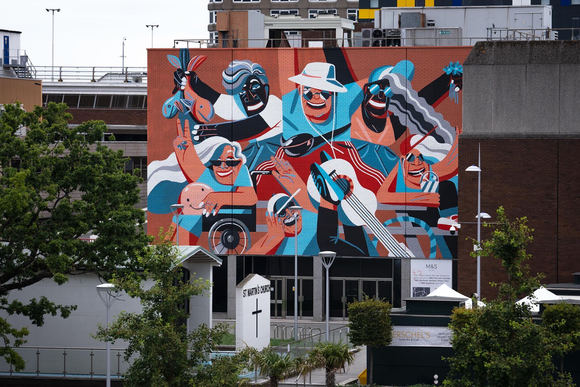 essex murales Marina Capdevila