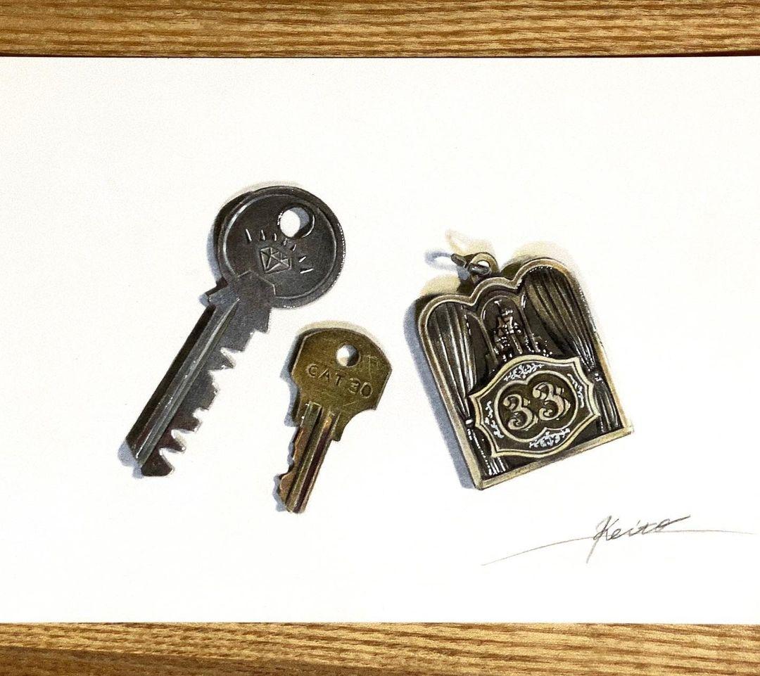 keito 3d llaves