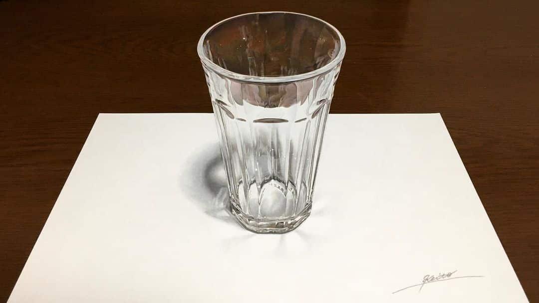 keito 3d vaso de vidrio 2