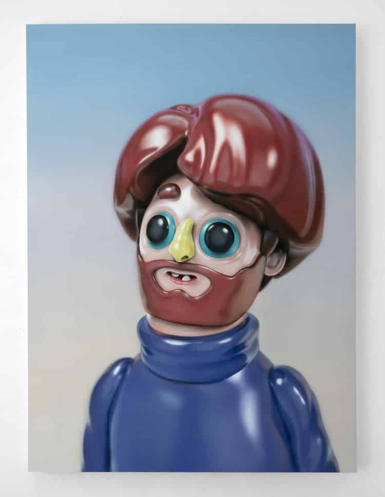 piette realismo plastico hombre barba