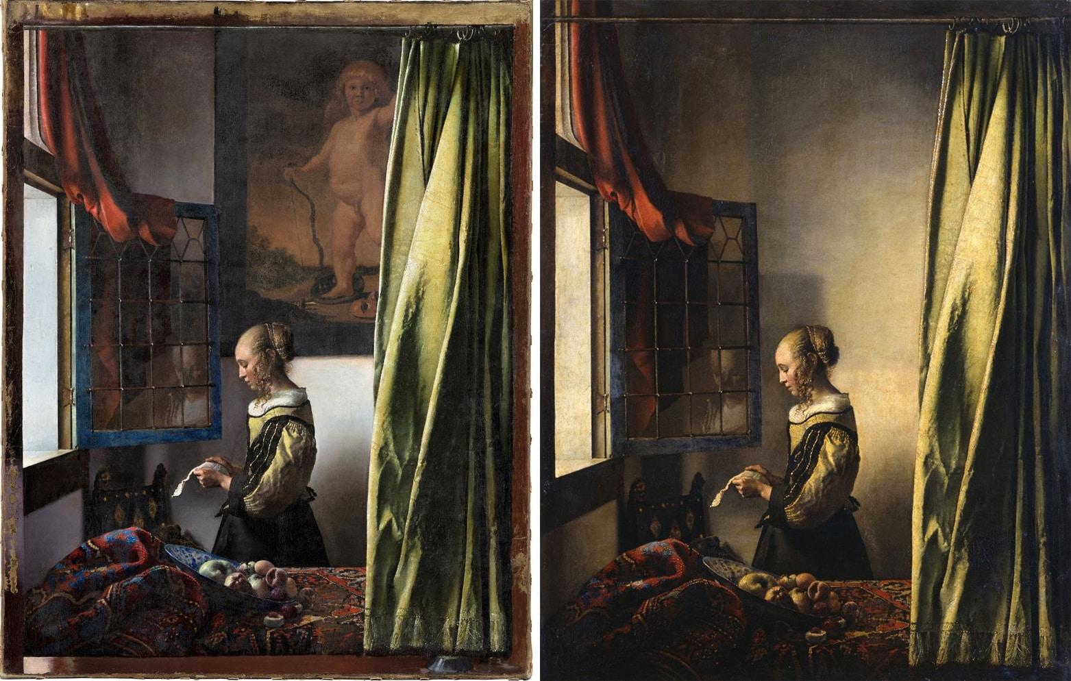 vermeer cuadro oculto