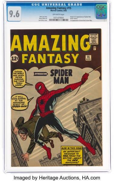 spiderman el comic mas costoso 2