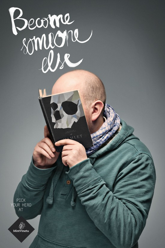 Posters de promoción de la agencia publicitaria Love