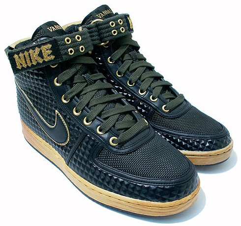 Nike vandal high- heavy metal